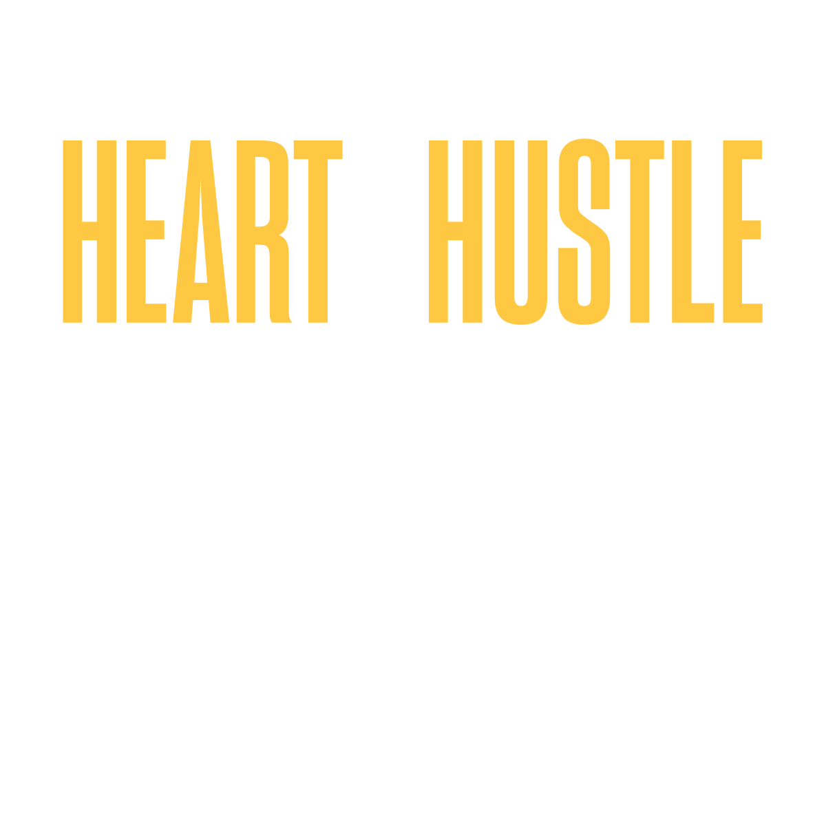 Heart + Hustle Podcast Logo