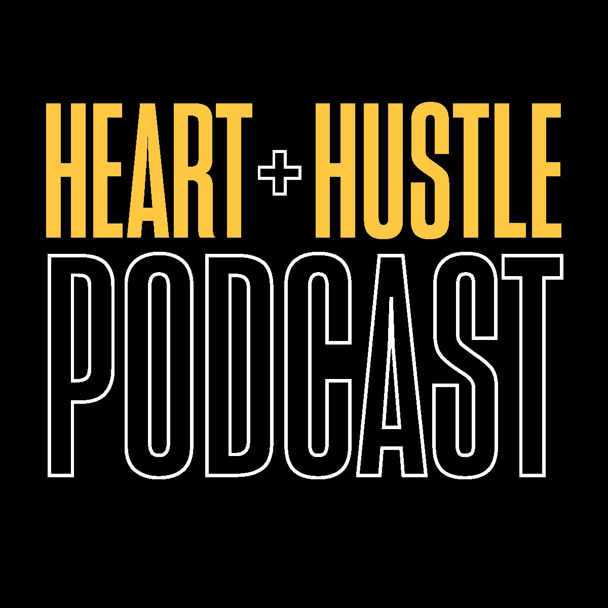 Heart + Hustle Podcast Logo